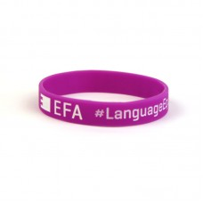 EFA bracelet #LanguageEquality