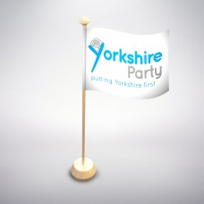 Yorkshire-Party deskflag
