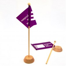 Desk flags EFA: