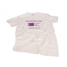 EFA t-shirt #AnotherEurope